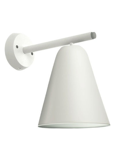 Hvid Væglampe