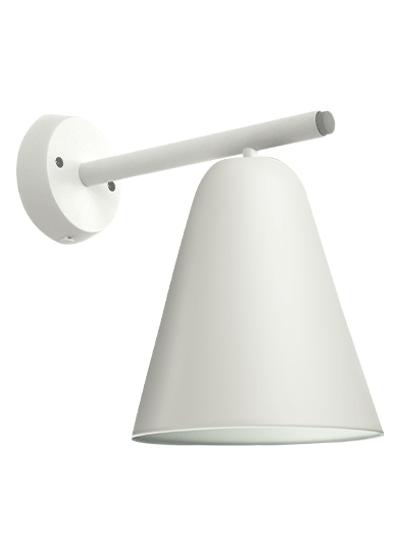 White-WallLamp with white frame