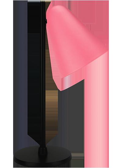 tablelamp-rose-with-black-frame2