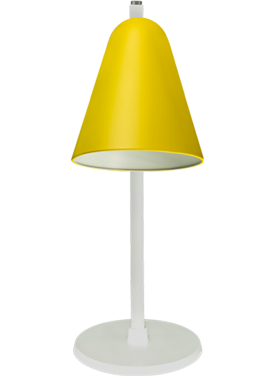 tablelamp-yellow-with-white-frame1