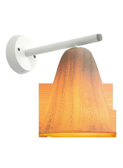 Hvid væglampe dragonFly